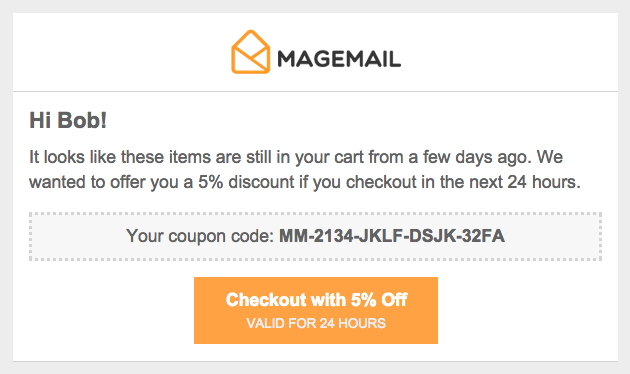 The Ultimate Abandoned Cart Email For Magento Magemail