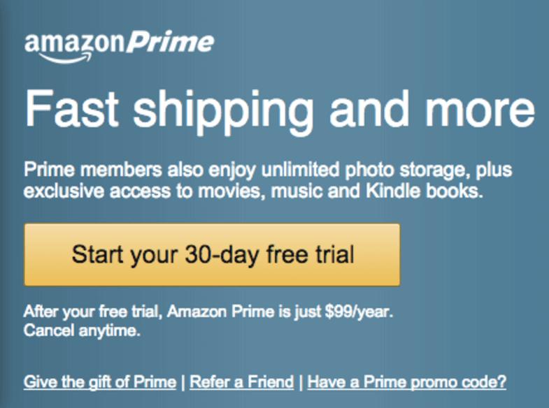 reward system for amazon prime