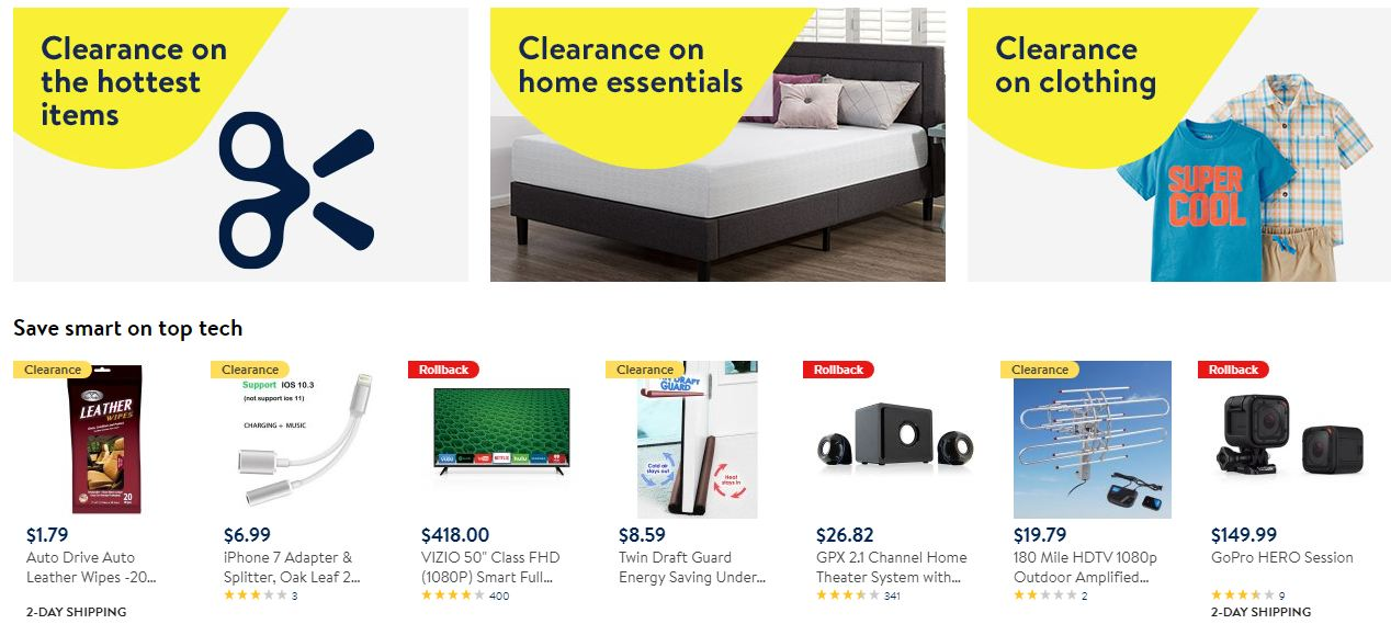 Walmart special offers