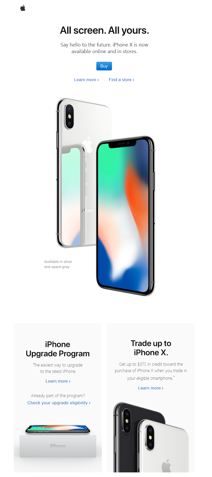 Apple Product Announcement Newsletter