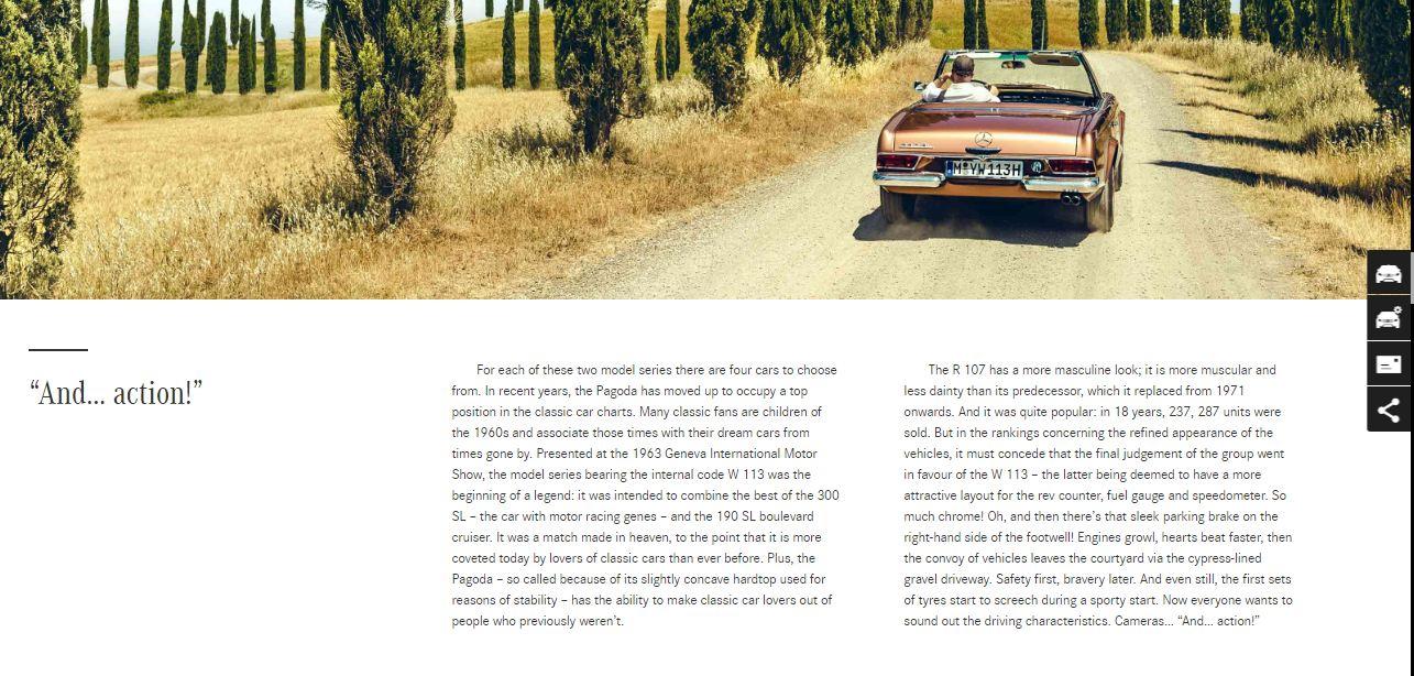 Mercedes heritage